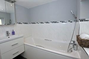 Small updated bathroom