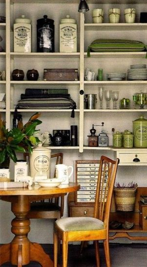 Group items together for an attractive storage solution