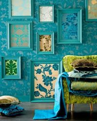 Matching frame colour's create a cohesive display