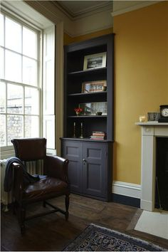 Paint one wall a colour you love, and paint old furniture in a contrasting colour.