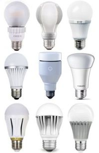 Energy Efficient LED Bulbs. From Apartment Therapy