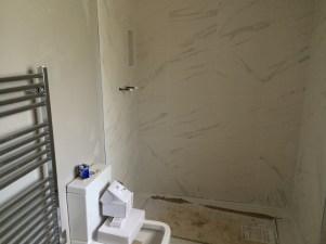 Tiling the en-suite