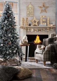 Cohesive scheme for Christmas tree, heart and room