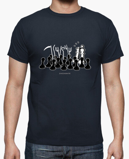 Camiseta Jaque Mate color azul marino