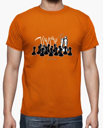 Camiseta Jaque Mate color naranja