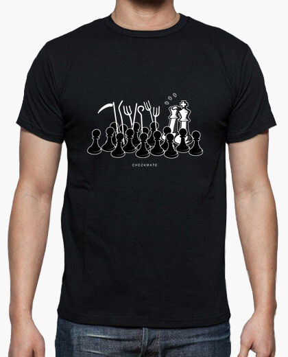 Camiseta Jaque Mate color negro
