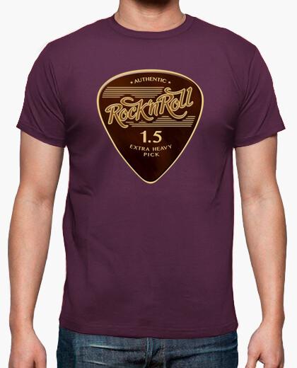 Camiseta Rock & Roll Pick color morado