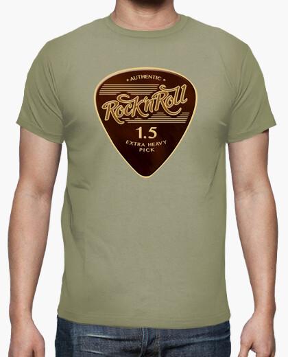 Camiseta Rock & Roll Pick color caqui