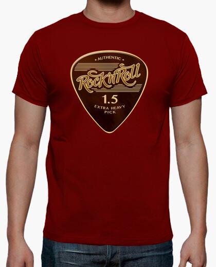 Camiseta Rock & Roll Pick color rojo