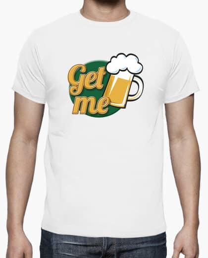 camiseta get me bier blanco