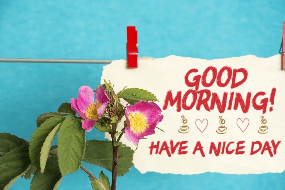 Good morning images with text good morning