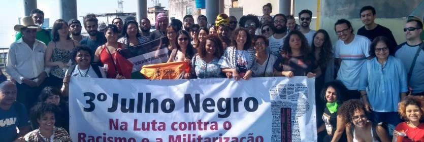 3º Julho Negro: Luta internacional contra o apartheid