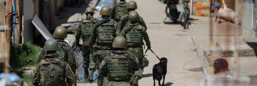 Operações policias em favelas do Rio