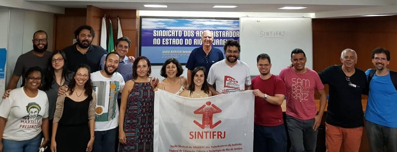 Nova diretoria é eleita no Sintifrj
