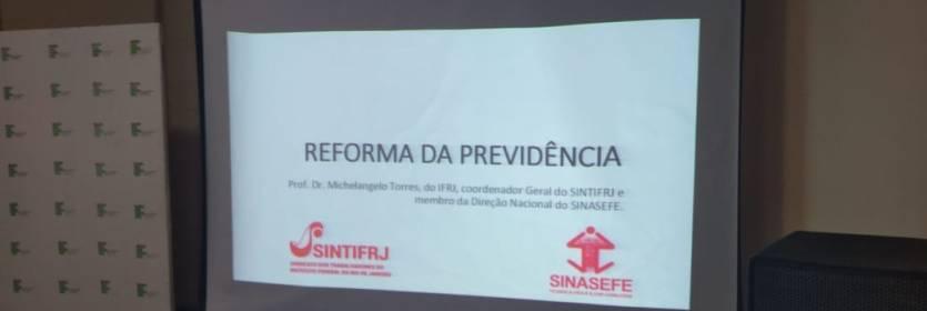 Debate: Reforma da Previdência em Paracambi