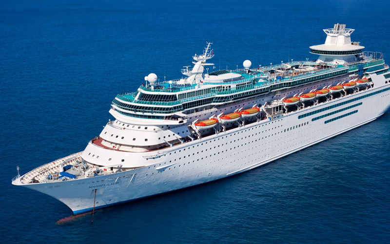 Majesty of the Seas in port Sep. 14 to assist with evacuations