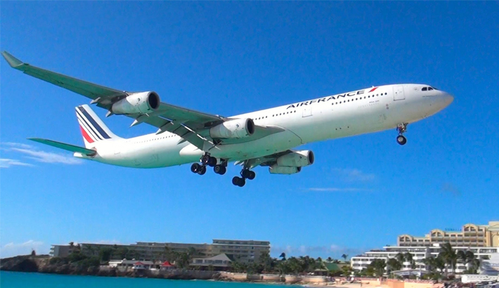 Air France returns to SXM Jan. 13