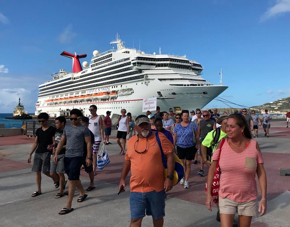 Carnival Cruise Line Returns to St Maarten