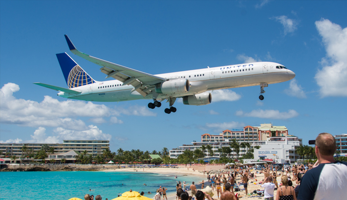 The latest update on flights to St Maarten from the US