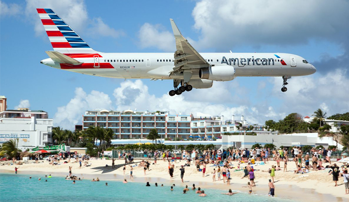 AA's nonstop flights from New York and Philadelphia to St Maarten resumes