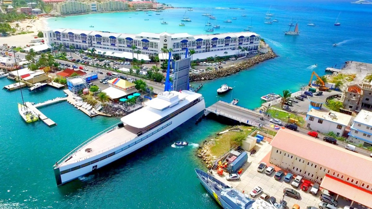 Apple co-founder Steve Jobs' superyacht Venus is still in St Maarten