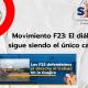 Movimiento F23: El diálogo sigue siendo el único camino