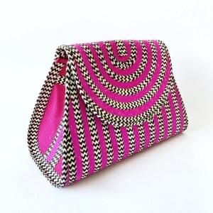 Handmade wicker Canasto handbag EME SinuForYou _ side