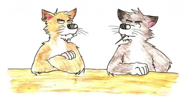 Pahamaineisia kissoja.