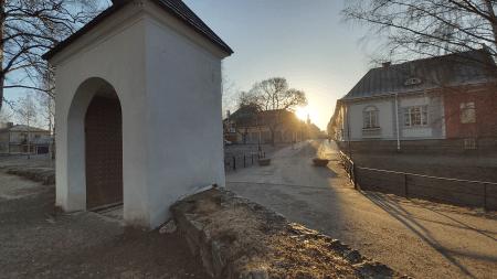 Vanha Rauma ja kirkonmäen portti