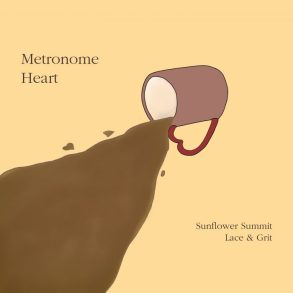 Metronome Heart Sunflower Summit Lace & Grit Album Art