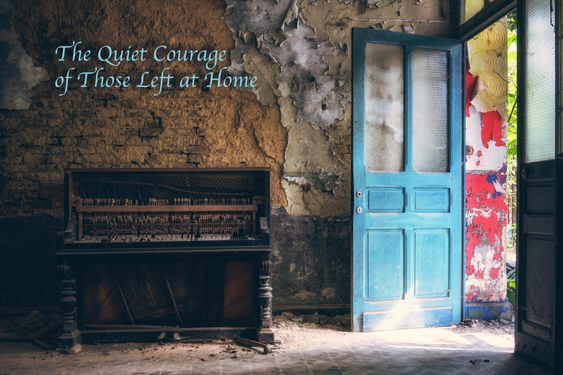 Tison Duni - The Quiet Courage Of Those Left At Home