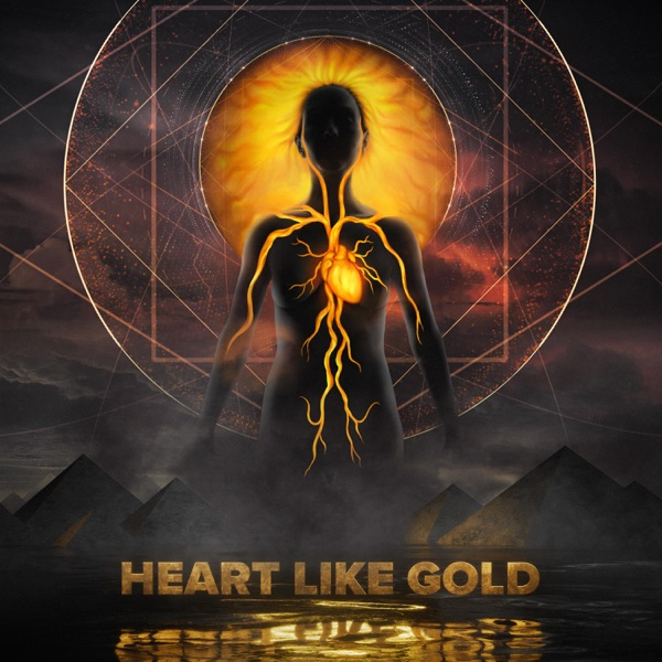 Heart Like Gold Red Flower Lake