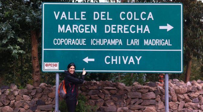 DÍA 4, Hoy a Chivay desde Arequipa.