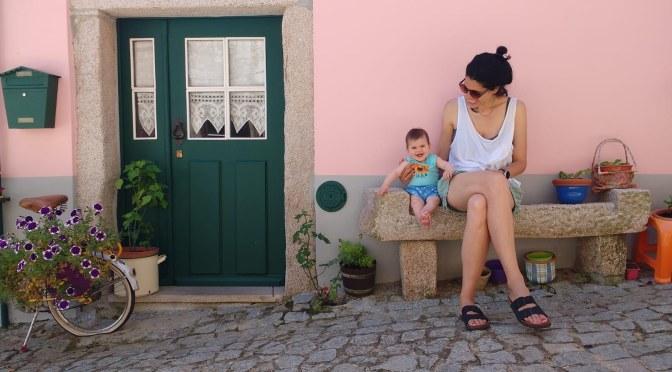 DÍA 6, regreso a Madrid con parada en ALMEIDA con bebe.