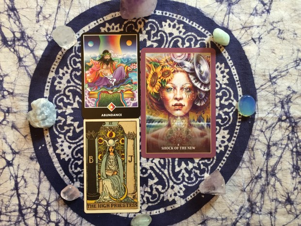 Smith-Waite Centennial US Games, 2009 Osho Zen Tarot, St Martins Press, 1995 Sacred Rebels Oracle, Blue Angel Publishing, 2014