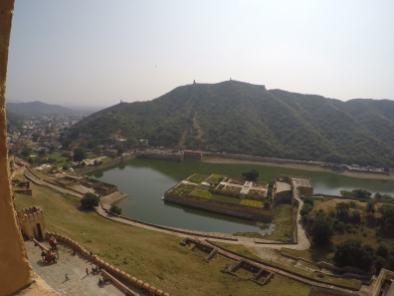 Amber fort w Jaipurze