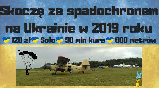 Skoki spadochronowe na Ukrainie