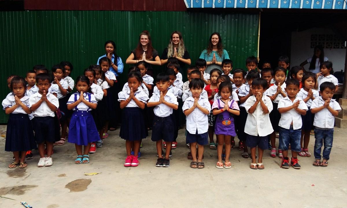 Wolontariat w Kambodży!