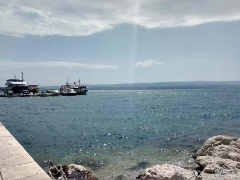 Omiś i Morze Adriatyckie