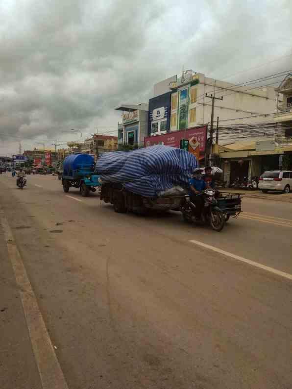 Poipet - granica Kambodży