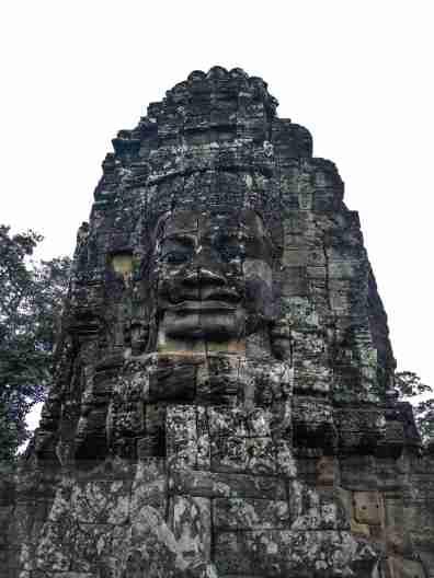 Kambodża - Świątynia Bayon Poipet - granica Kambodży