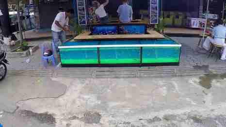 Atrakcje Siem Reap - masaż z rybkami
