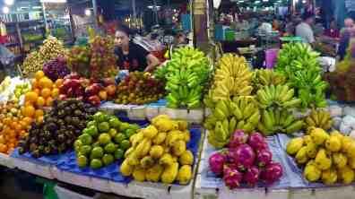 Bazar i owoce - Atrakcje Siem Reap