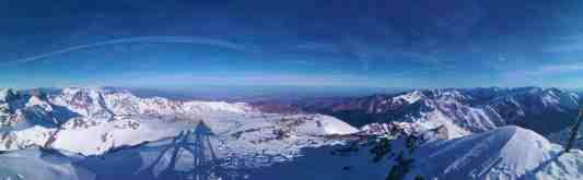 Panorama na Toubkal