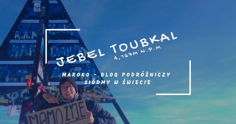Maroko #1 – Wejście na najwyższy szczyt Jbel Toubkal