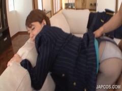 吉沢明歩がCAコスでセックスしてる潮噴き動画