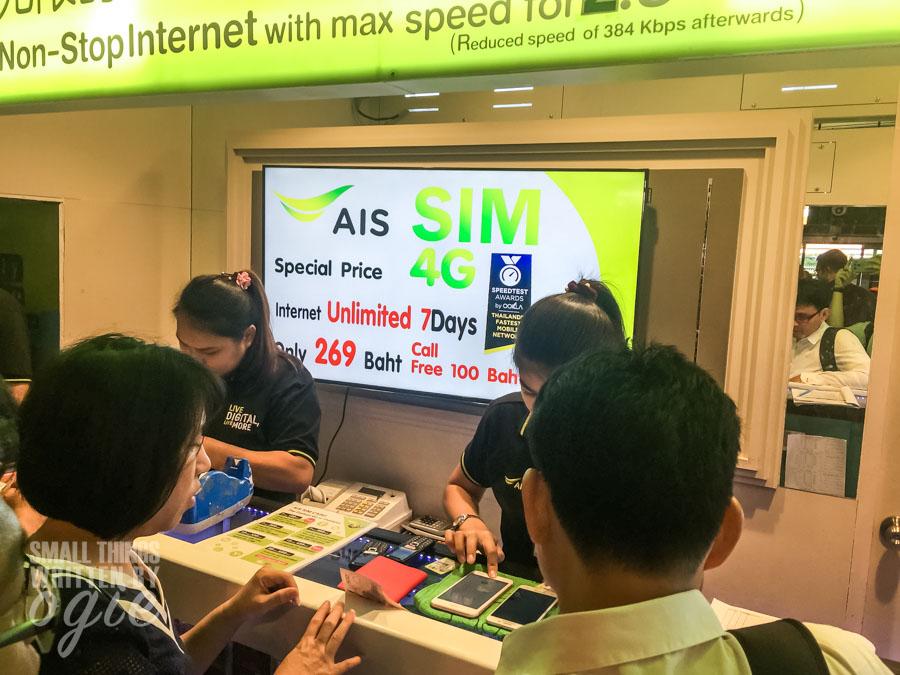 Internet di Bangkok