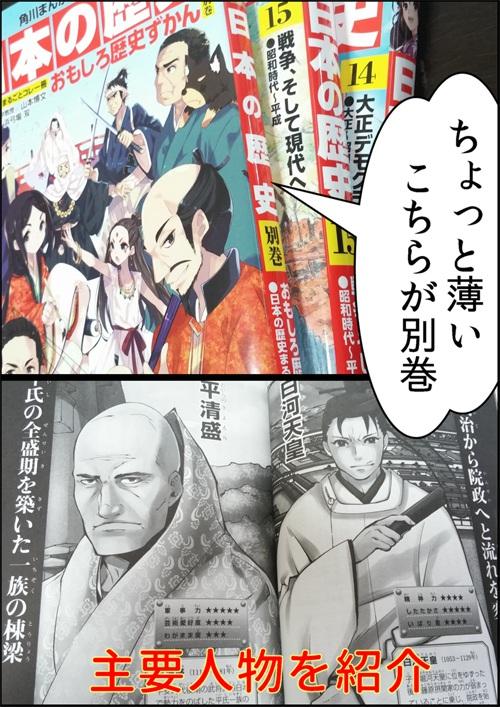 角川学習まんが日本の歴史別巻の紹介写真