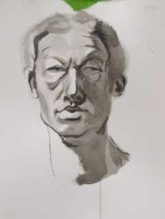 Portrait Study in Ink 2012 (2)