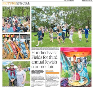 A collection of images from the Jewish Summer festival in Highbury Park London. Photograph by Siorna Ashby, a portrait photographer in north London, Finsbury Park for the Ham and High newspaper